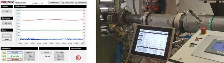 Promix Solutions - Promix® Visco-P for accurate inline viscosity measurement in extrusion