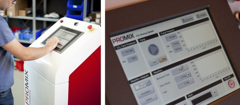 Promix Solutions - Gas dosing system for physical foaming